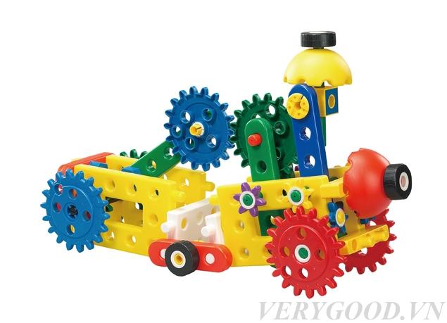 Bộ đồ chơi trí tuệ lắp ghép bánh răng cho bé