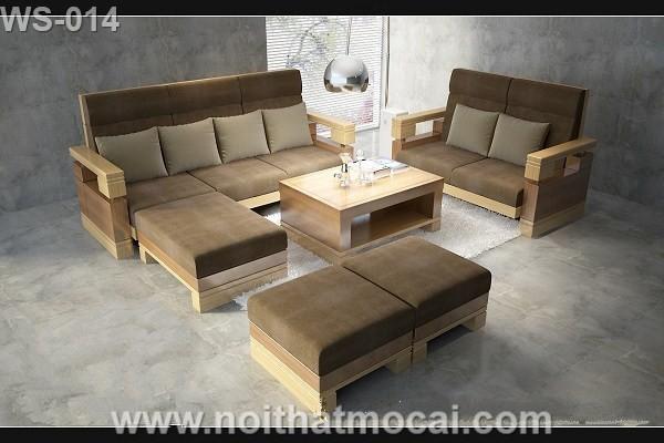 Mẫu thiết kế bộ bàn ghế gỗ hiện đại sang trọng