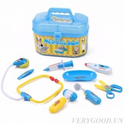 Bộ đồ chơi làm bác sĩ cho bé 9 in 1 Dream toy USA 2988 là một sản phẩm đồ chơi hướng nghiệp cho bé