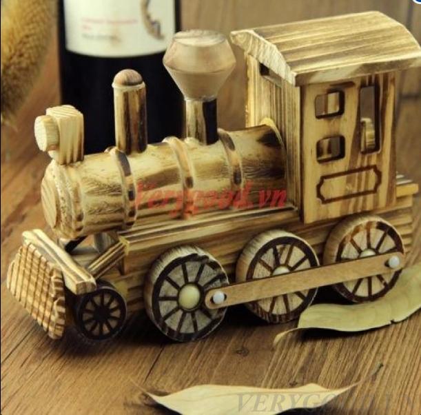 Sản phẩm mô hình đầu tàu xe lửa đáng yêu cho bé