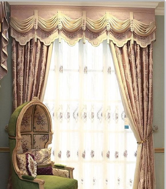 Rèm cửa phòng ngủ phong cách châu Âu