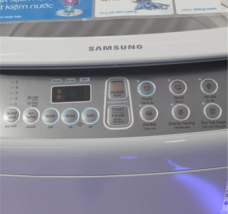 Cần phải kiểm tra kỹ càng các bộ phận của máy giặt