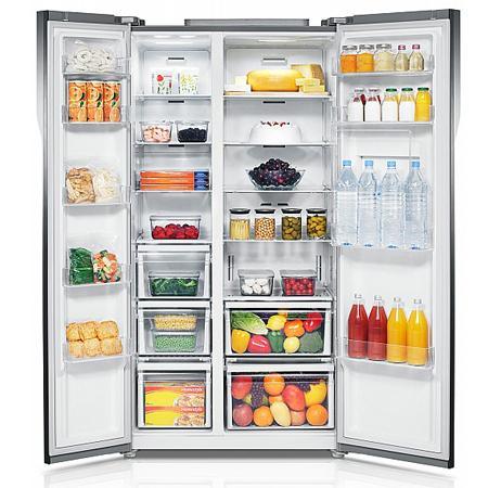 Thiết kế sang trọng và tiện ích của tủ lạnh Samsung RS552NRUASL