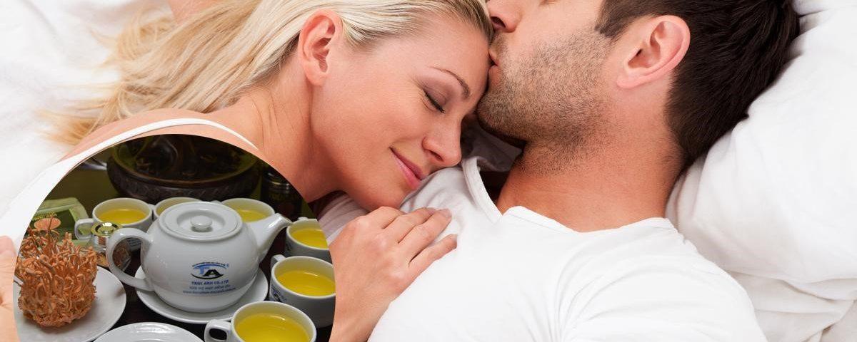 Đông trùng hạ thảo tăng cường khả năng sinh lý ở nam giới.