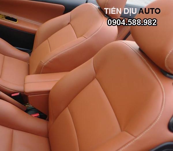 Thiết kế mẫu ghế da thật trên ô tô được thiết kế bởi Tiến Dịu Auto