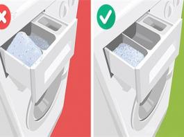 Cho bột giặt vào máy giặt như nào là đúng cách?