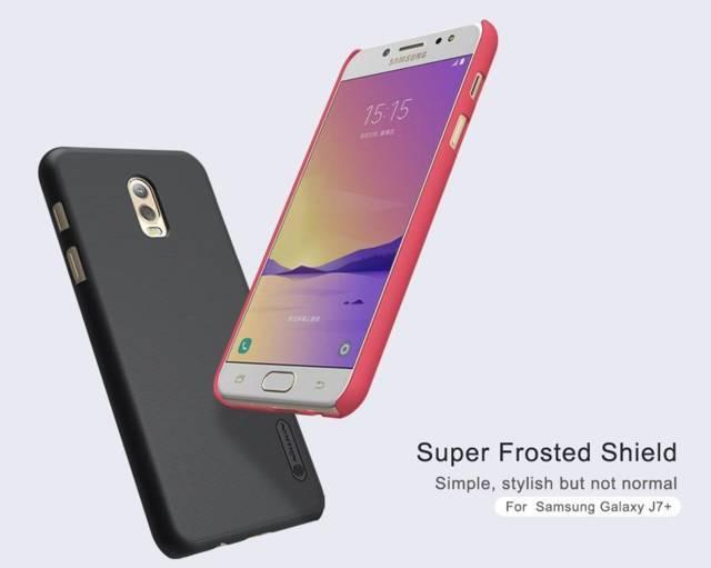Ốp lưng sần NillKin cho Samsung Galaxy J7 Plus