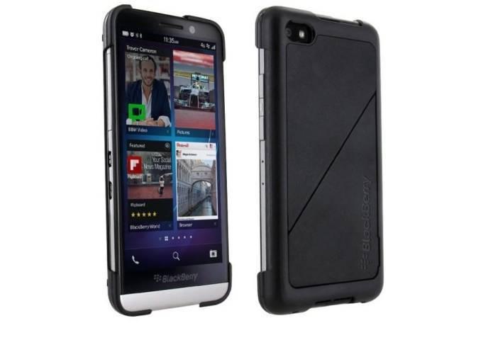 Thiết kế của ốp lưng Blackberry Z30 đơn giản và tiện dụng