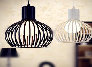 Đèn sắt – sản phẩm trang trí nội thất hoàn hảo dành cho mọi không gian