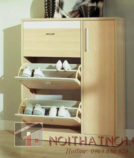 Mẫu tủ giày nhỏ thông minh