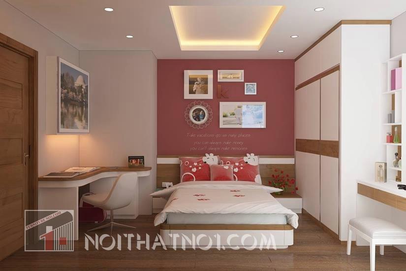 Chọn nội thất phòng cưới đẹp gỗ công nghiệp