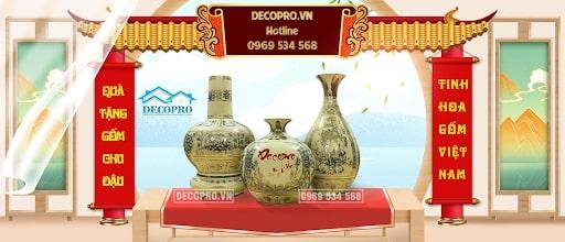 Decorpro là địa chỉ bán bình gốm sứ Chu Đậu chất lượng
