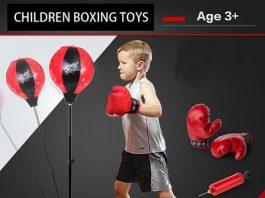 Boxing là hình thức vận động trẻ em nên tập luyện