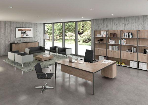 Phong cách nội thất văn phòng tối giản